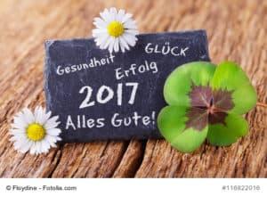 Grukarte - Neujahr 2017